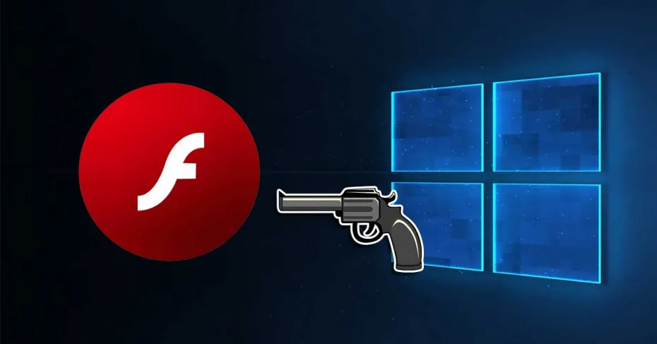 Windows 10 está borrando Flash Player